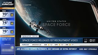 Space Force looks for dreamers in first recruitment video