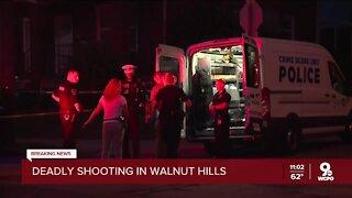 Cincinnati Police investigating deadly shooting in Walnut Hills