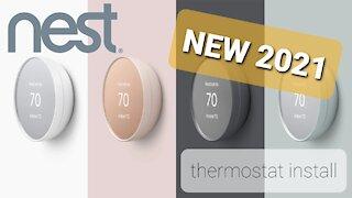 Google Nest Thermostay Installation