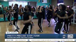 Pretty Precise step team in south PHX teaching more than dance