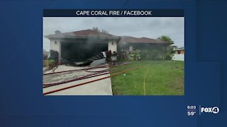 Cape Coral house fire accidental