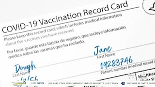 Clearing up confusion about COVID-19 vaccination cards