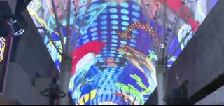 Fremont Street canopy getting makeover