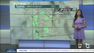 ABC 10News Pinpoint Weather for Sun. March 14, 2021