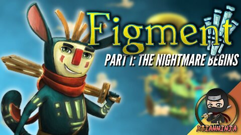 This Game Broke My Heart (and Fixed it!)! Fighting Nightmares with a Wooden Sword (Figment: Part 1)