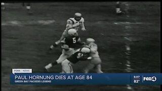 Paul Hornung has died