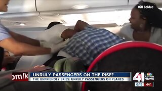 Unruly passengers on the rise?
