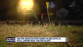 Boil water advisory issued for City of Belleville