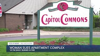 Local woman severely burned in apartment fire suing building complex owners