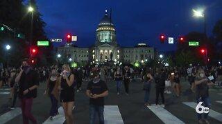Black Lives Matter vigil held in downtown Boise