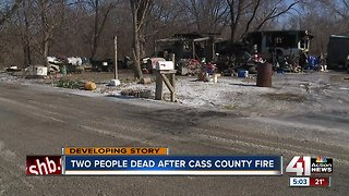 2 people killed in Cass County fire