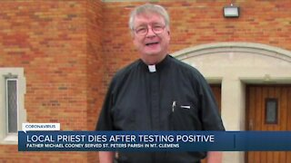 Metro Detroit priest dies after testing positive for COVID-19