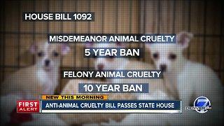 Anti-animal cruelty bill passes State House