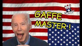 JOE BIDEN GAFFES IT UP AT WISCONSIN TOWN HALL !