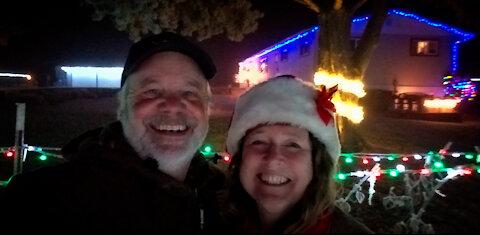 May the light of Christmas shine upon you!