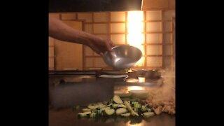 Chef Haokip Cooking