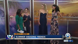 Summer wedding dress fashion
