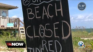 Beaches remain closed in Indian River County due to red tide