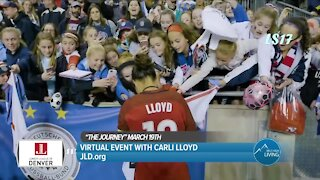 Virtual Event With Carli Lloyd! // Junior League Denver