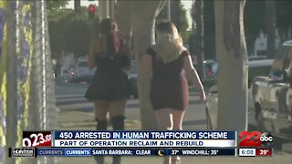 450 arrested in human trafficking scheme, part of Operation Reclaim and Rebuild