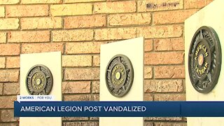 American Legion Post 131 Vandalized
