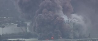 Fire breaks out at a chemical plant in Louisiana