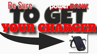 best wireless emergency solar charger