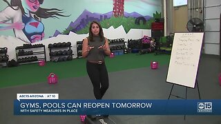 Gyms, pools can reopen in Arizona