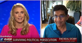 The Real Story – OAN Trump Supporters Witch-Hunt with Dinesh D'Souza