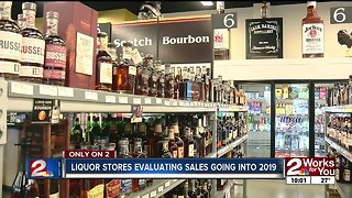 Liquor stores evaluating sales going into 2019