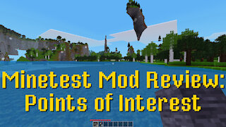 Minetest Mod Review: Points of Interest