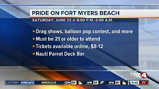 Pride Event scheduled on Fort Myers Beach Saturday