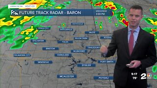 Severe Storms Early Wednesday