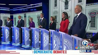 First night of Democratic debates