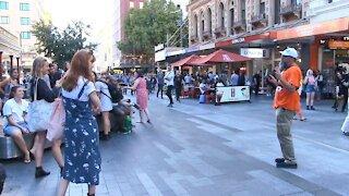 Astonishingly Apathetic Adelaide - GOD WAS WORKING! | Street Preaching - Kerrigan Skelly