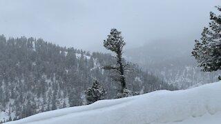 Snowy Mountaintop cruise