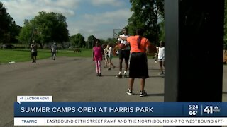 Summer camps open at Harris Park
