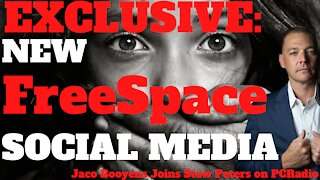 EXCLUSIVE: New Social Media FreeSpace, Jaco Booyens Joins Stew Peters on PC Radio