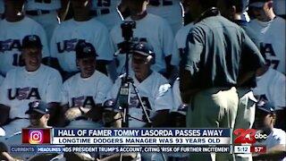 Honoring Tommy Lasorda