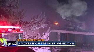 Caldwell house fire