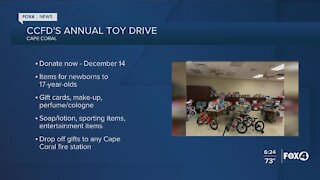 Cape Coral Fire Department Annual Toy Drive Underway