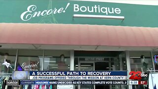 A successful path to recovery: job programs offered through The Mission at Kern County