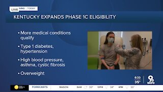 Ky. expands COVID-19 vaccine eligibility