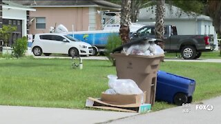 Advanced Disposal strike causes trash pick up delays in east Lee County