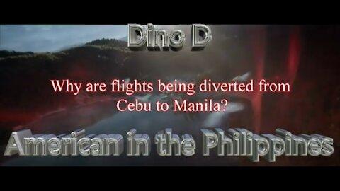 Cebu-bound flights diverted to Manila until June 12?