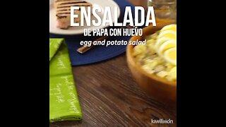 Delicious Potato Salad with Egg