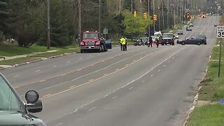 Parma traffic controller officer struck by vehicle while marking crosswalks on West Pleasant Valley Road