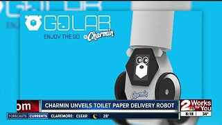 Charmin unveils toilet paper delivery robot