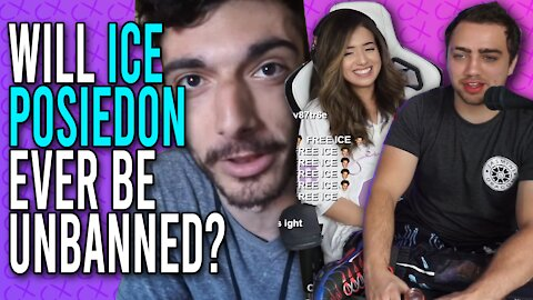 Will Ice Poseidon ever get unbanned from Twitch?