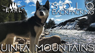 Solo Camping with a Husky - Uinta Mountains